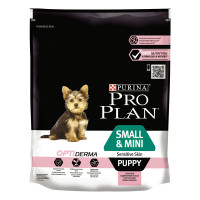 Pro Plan Optiderma Puppy Sensitive Skin Smal & Mini 700 gr.