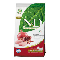 N&D dog mini adult GRAIN FREE Pollo & Melograno