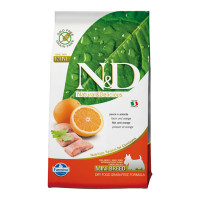 N&D Dog Grain Free Pesce & Arancia Mini 800 gr.
