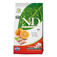 N&D Dog Grain Free Pesce & Arancia Medium 2.5 Kg.