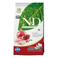 N&D dog Adult Medium GRAIN FREE Pollo & Melograno