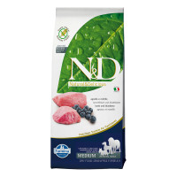 N&D dog Adult Medium GRAIN FREE Agnello & Mirtillo