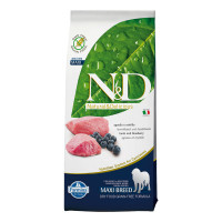 N&D Dog Grain Free Agnello & Mirtillo Maxi 12 Kg.