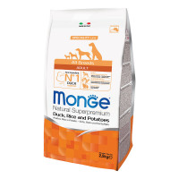 Monge All breeds adult anatra riso e patate