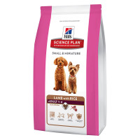 Hill's Science Plan Adult Small & Miniature Agnello e Riso 1,5 Kg
