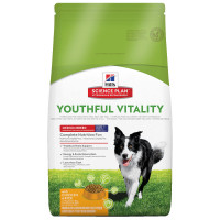 Hill's Science Plan Canine Adult 7+ Youthful Vitality Medium Breed Pollo e Riso 10 kg