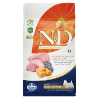 N&D Pumpkin dog Adult Mini Agnello, Zucca e Mirtillo 800 gr