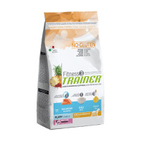 Trainer Fitness 3 Puppy Medium Maxi Salmone 3 kg.