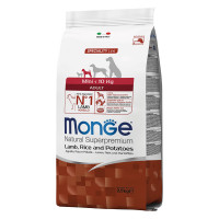 Monge Mini Adult Agnello, Riso e Patate 7,5 kg