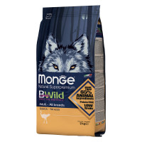 Monge BWild All Breeds Adult Struzzo 2 kg.