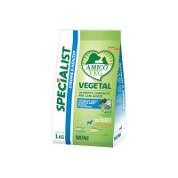 Amico Veg dog Adult Mini Piselli e Alghe 1 kg