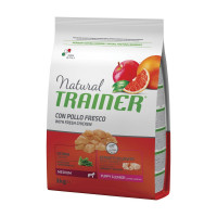 Natural Trainer Puppy&Junior Medium Pollo 3 kg