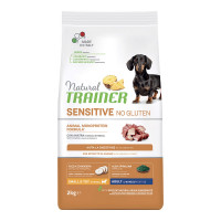 Natural Trainer Sensitive No Gluten Small & Toy Adult con Anatra 2 kg