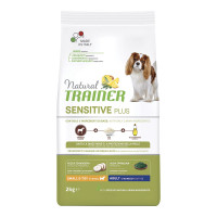 Natural Trainer Sensitive Plus Small&Toy  Adult con Cavallo e Riso 2 kg