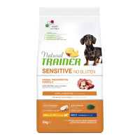 Natural Trainer Sensitive Plus Small&Toy Adult con Coniglio e Riso 2 kg