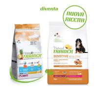 Natural Trainer Sensitive No Gluten Medium & Maxi Puppy & Junior con Salmone 3 kg
