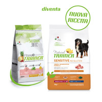 Natural Trainer Sensitive No Gluten Medium & Maxi Adult con Maiale 3 kg