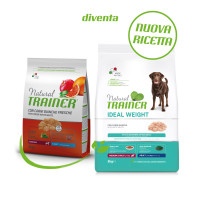 Natural Trainer Ideal Weight Medium & Maxi Adult con Carni bianche 3 kg