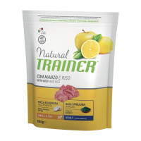 Natural Trainer Small & Toy Adult con Manzo e Riso 800 gr.