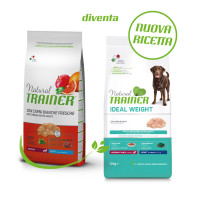 Natural Trainer Ideal Weight Medium & Maxi Adult con Carni bianche 12 kg