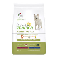 Natural Trainer Sensitive Plus Medium&Maxi Adult Coniglio e Riso 3 kg