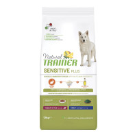 Natural Trainer Sensitive Plus Medium&Maxi Adult Coniglio e Riso 12 kg