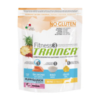 Trainer Fitness 3 Puppy&Junior Mini Salmone 800 gr