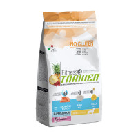 Trainer Fitness 3 Puppy&Junior Mini Salmone 2 kg