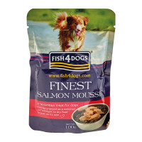 Fish4Dogs Finest Mousse al Salmone 100 gr