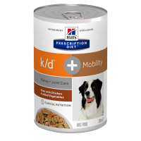 Hill's Prescription Diet k/d + Mobility Spezzatino con Pollo e Verdure 354 gr.