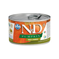 N&D Pumpkin dog mini adult Duck & Pumpkin 140 gr.
