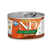 N&D Pumpkin dog mini adult Venison & Pumpkin 140 gr.