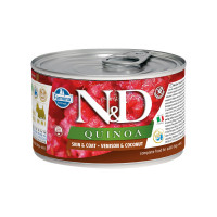 N&D Quinoa dog mini Skin&Coat Venison 140 gr.