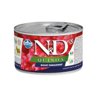N&D Quinoa dog mini Weight Management 140 gr.