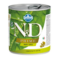 N&D Prime dog adult Boar & Apple 285 gr.