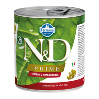 N&D Prime dog adult Chicken & Pomegranate 285 gr.
