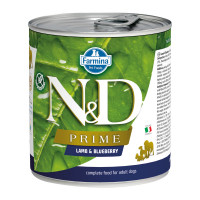 N&D Prime dog adult Lamb & Blueberry 285 gr.
