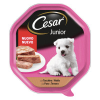 Cesar Junior paté Vitello e Tacchino 150 gr