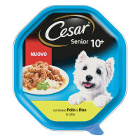 Cesar Senior 10+ Pollo e Riso in salsa 85 gr.