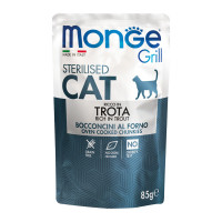 Monge Grill Sterilised Cat Bocconcini in Jelly Trota 100 gr.