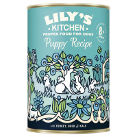 Lily's Kitchen dog Puppy Turkey, Duck & kale 400 gr.
