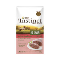 True Instinct No Grain dog mini adult patè al Manzo 150 gr