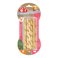 Delights 8in1 Pork Twisted Sticks XS 10 pz.