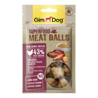 GimDog Superfood Meat Balls Pollo, Patate & Miglio 70 Gr.