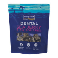 Fish4Dogs Sea Jerky Squares snack 115 gr.