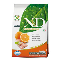 N&D cat GRAIN FREE Pesce e Arancia
