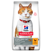 Hill's Sterilised cat young adult Pollo 300 gr