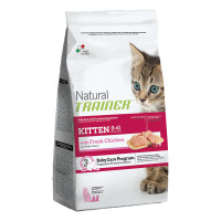 Natural Trainer Kitten Pollo 1,5 kg