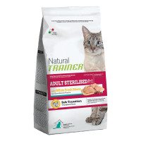 Natural Trainer Adult Sterilised Carni Bianche 1,5 kg.