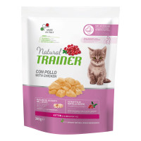 Natural Trainer Kitten con Pollo Fresco 300 Gr.